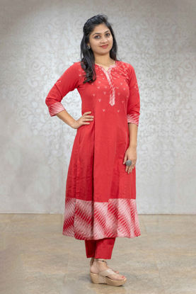 Picture of Casual Red Pant Set