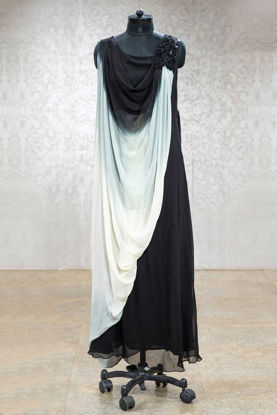 Picture of Flowy Georgette Gown